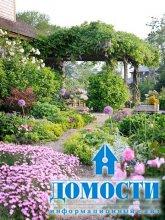 Дизайн деревенского сада