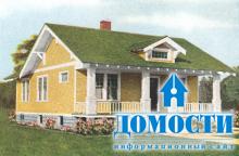 Цвет крыш старинных домов