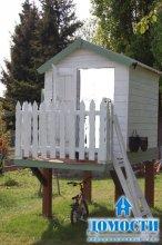 Летние домики для детворы