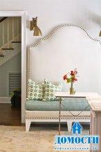 Уютные кухонные уголки со скамейками