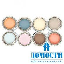 Выбор краски для внутренних стен
