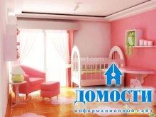 Яркая отделка детских спален