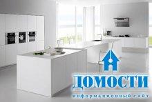 Преимущества белых кухонь
