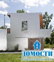 Экологичный дом с алюминиевым сайдингом