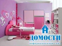 Подростковые спальни для девочек