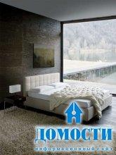 Контрастные современные кровати