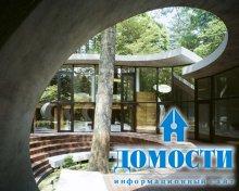 Японский дом-ракушка