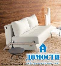 Кресло-кровать на металлических ножках