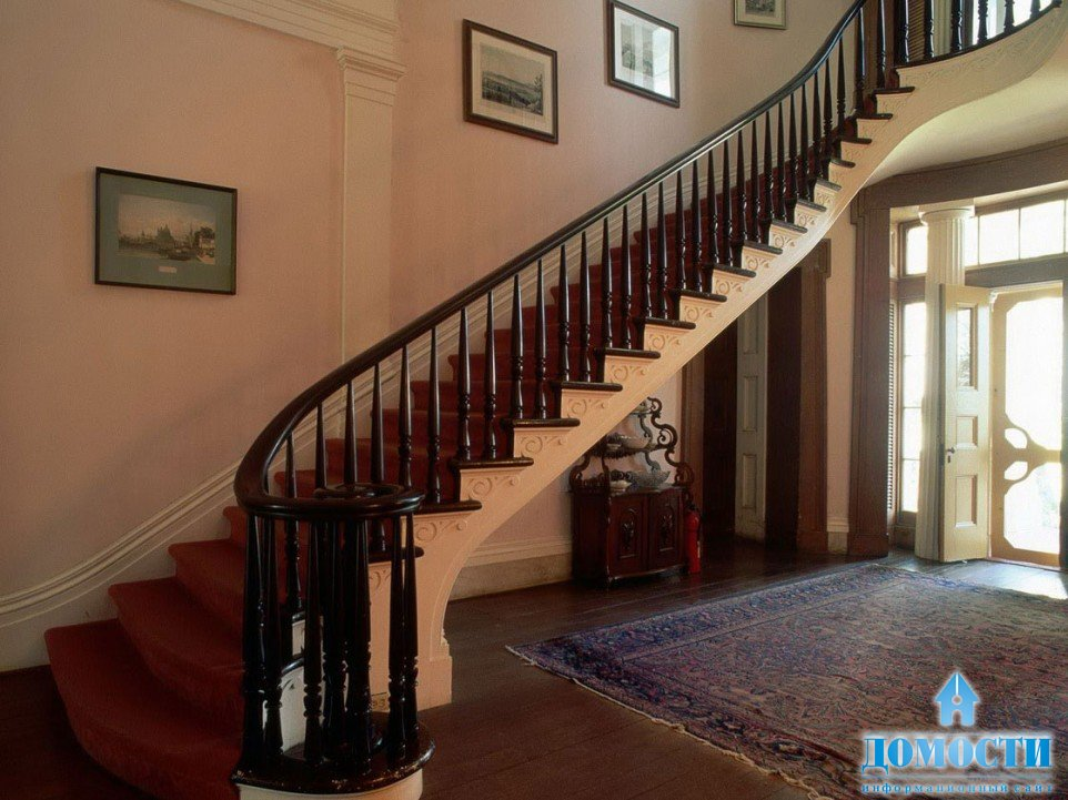 Деревянные лестницы фото в интерьере