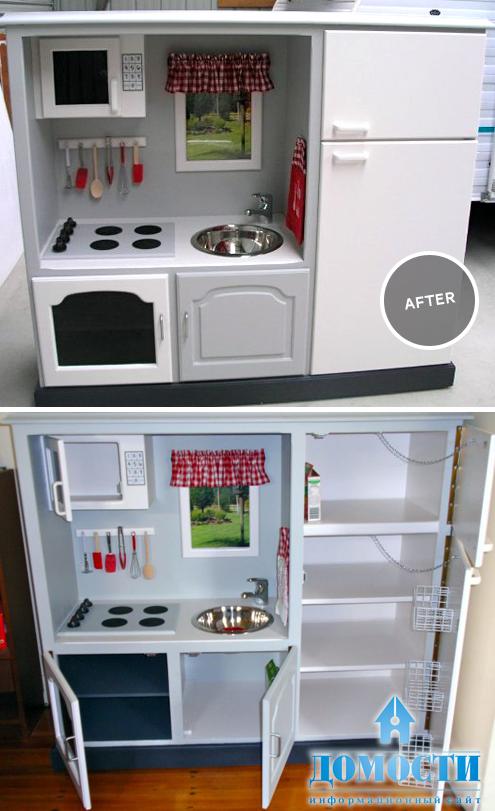 Переделать кухонный шкаф своими руками