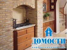 Использование камня в дизайне кухни