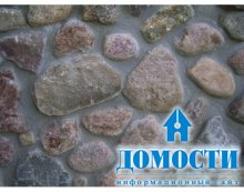 Облицовка фундамента камнем