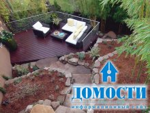Уютное садовое патио