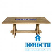 Дубовый стол ручной работы
