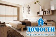Нежные спальни в теплых тонах