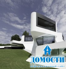Современный особняк в стиле футуризм