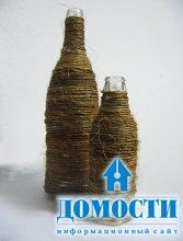 Природный декор из шпагата