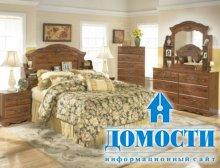Традиционный интерьер деревенских спален