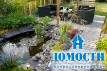 Обустройство маленького сада
