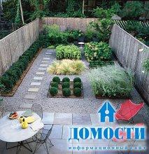Идеи дизайна маленького сада