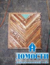 Декор из старой древесины