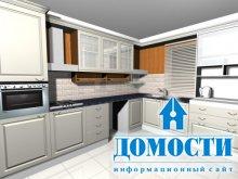 Коллекция разнообразных кухонь