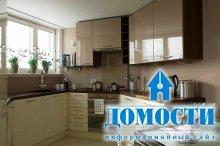 Элегантные кухни небольшого размера