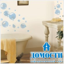 Наклейки-пузыри для ванных