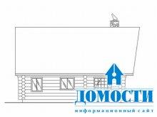 Проект просторного деревянного дома