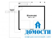 Компактные дома с гаражами