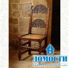 Резная мебель для английских интерьеров