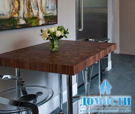 Кухонный стол  100 фото новинок красивых столов на кухню