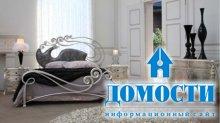 Элегантная кровать ручной ковки