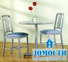 Компактные столики для тесных кухонь