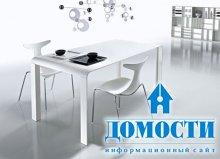 Лаконичны столик с изящным дизайном