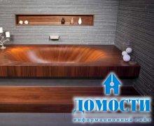 Ванны из уникальных материалов