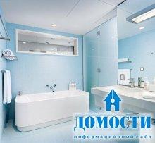 Уникальные интерьеры ванных