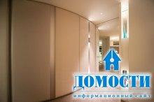 Современный интерьер закругленной квартиры