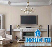 Телевизоры в классических интерьерах