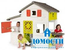 Детские домики из безопасного пластика
