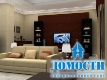 Интерьер минималистичных гостиных