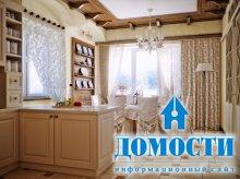 Уютные кухни-столовые