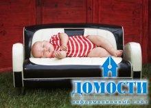 Детские диванчики из кожи