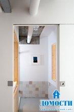 Бело-деревянный интерьер