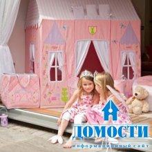 Детские дворцы из ткани