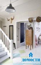 Дом с винтажным интерьером