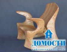 Уникальная мебель из дерева