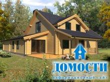 Литовские дома из бруса