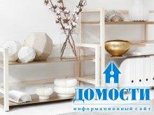 Дизайн деревянных стеллажей
