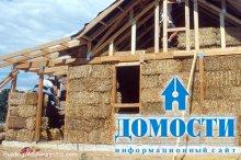 Особенности строительства из соломы